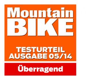 MountainBIKE Testurteil überragend 05.2014, Novena