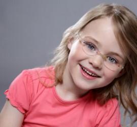 Leichte Kinderbrille