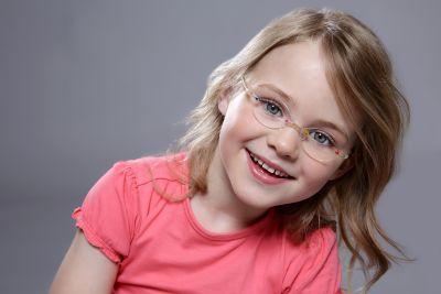 Leichte Kinderbrillen